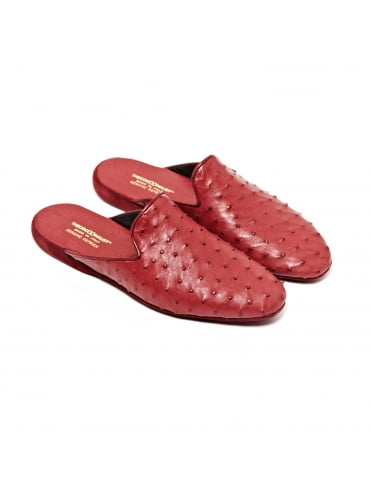 ostrich-leather-slippers-burgundy (1)