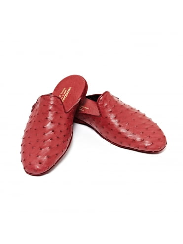 ostrich-leather-slippers-burgundy (2)